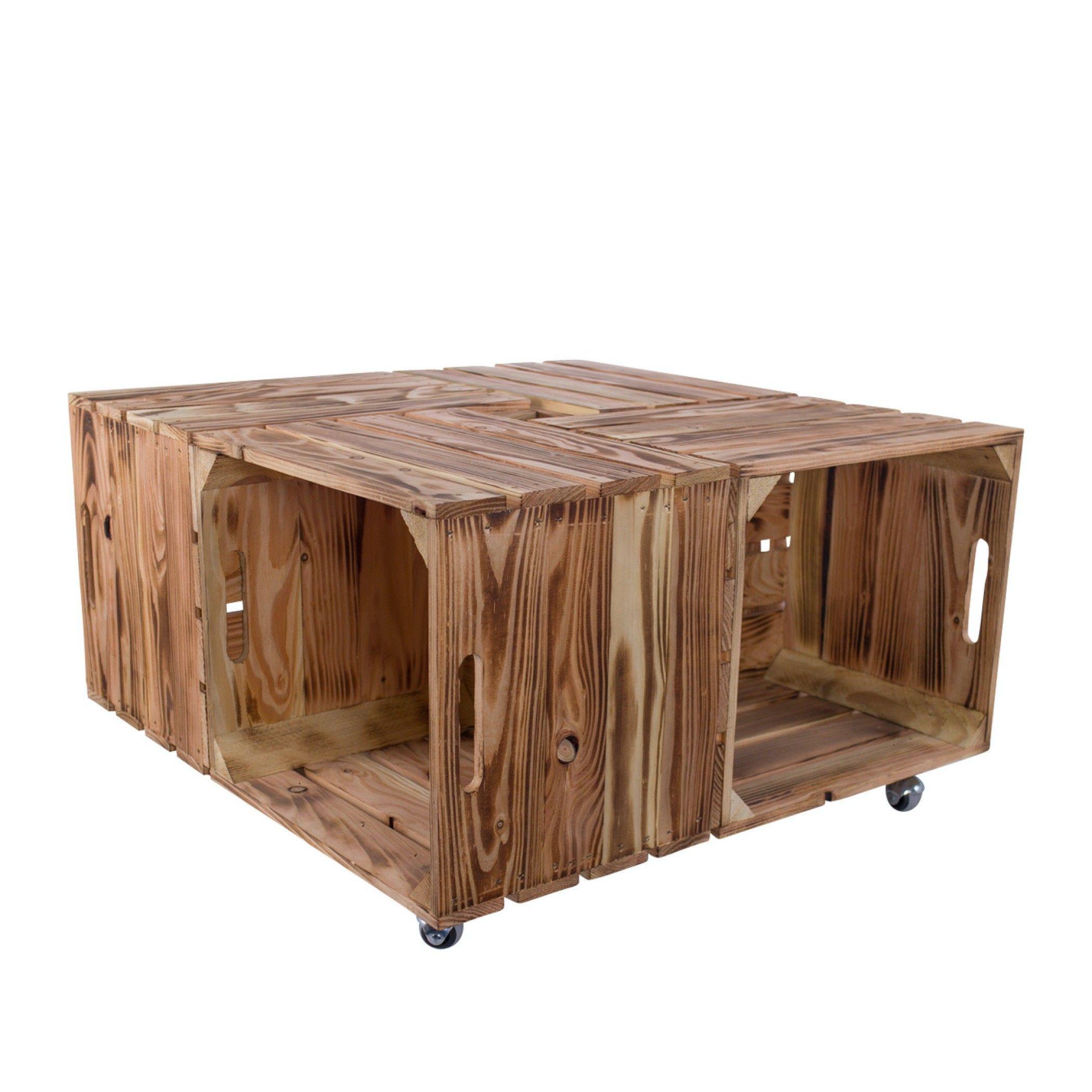 Table Basse Ikea Kallax Flambee Caisses Co